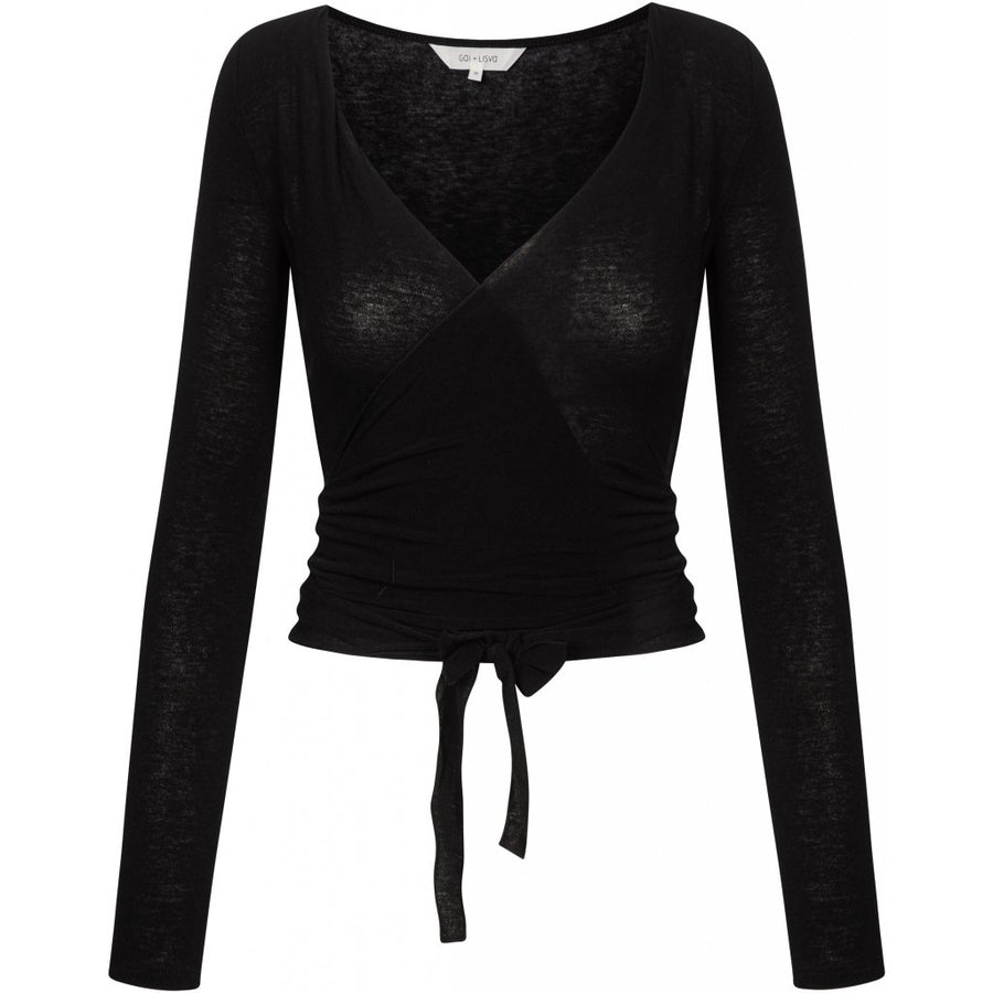 Gai+Lisva Anne Top - Black