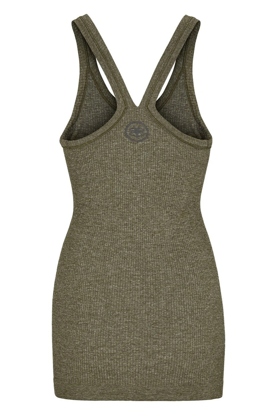 Y-Back Tank W/ Bra - Army