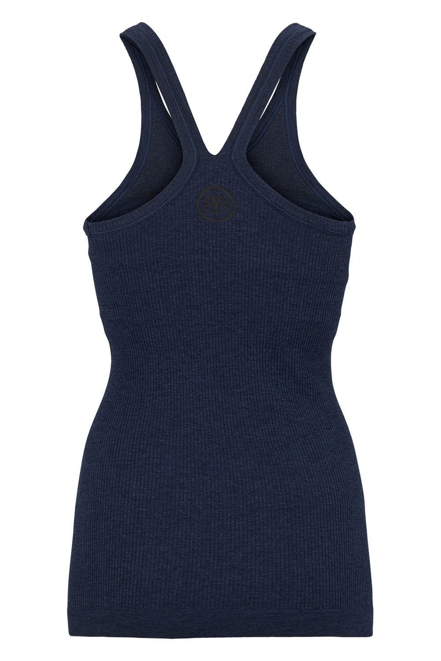 Y-Back Tank W/ Bra - Navy