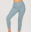 High Rise Long Legging - Sky
