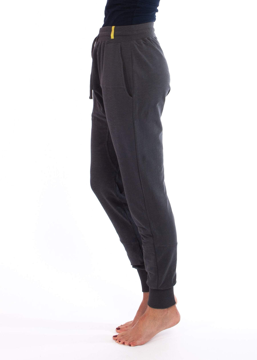 Økologiske Mudra Pants - Dusty Blue