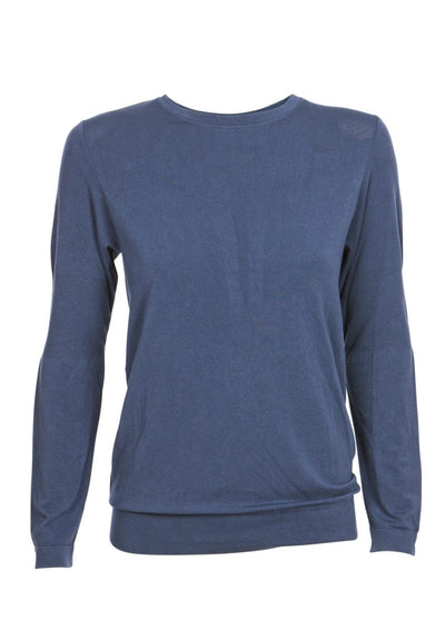 Balasana Bamboo Long Sleeve - Cloudy Blue
