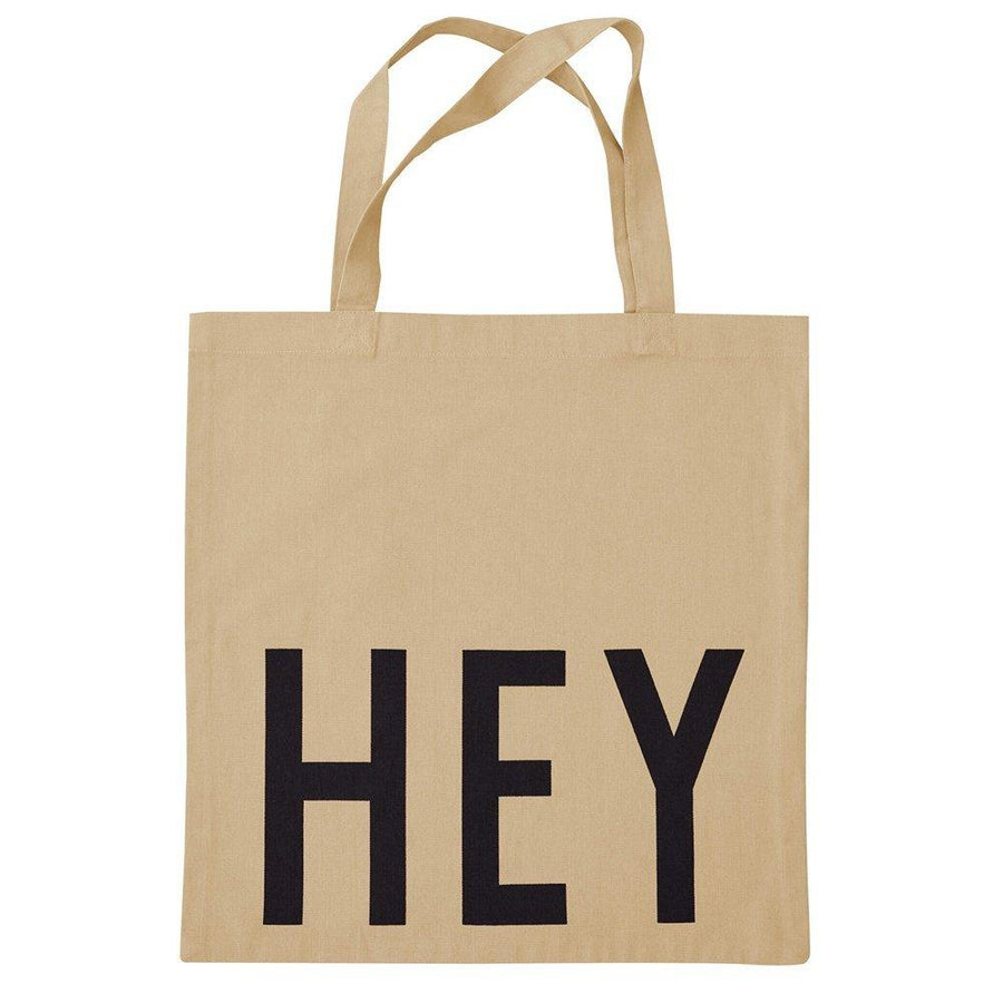Tote Bag - HEY - Beige