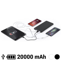 Power Bank 20000 mAh USB-C Lightning Micro USB 145784 GalaxiShop