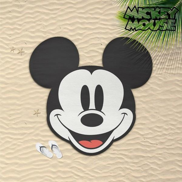 Serviette de plage ronde Mickey Mouse GalaxiShop