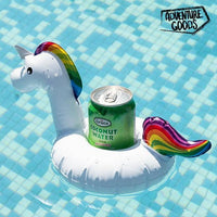 Support Gonflable pour Boissons Licorne Adventure Goods GalaxiShop