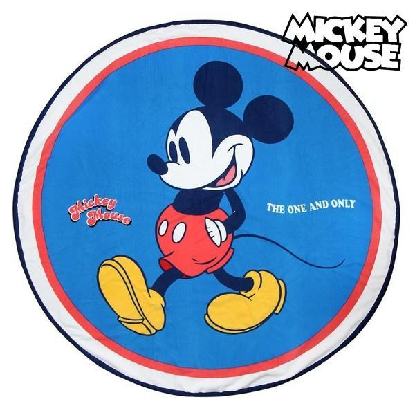 Serviette de plage ronde Mickey Mouse The one and only GalaxiShop
