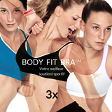 Soutiens Gorge de Sport Body Fit Bra (Pack de 3) GalaxiShop
