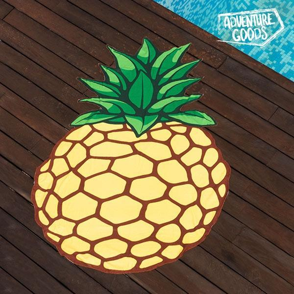 Serviette de Plage Ananas Adventure Goods GalaxiShop