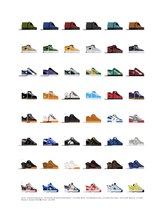 Load image into Gallery viewer, Skate Shoes of the 90s