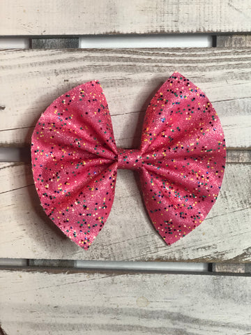 Cupcake  Oversize Pinch Bow