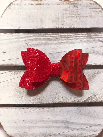 Red Jungle Princess  Bow