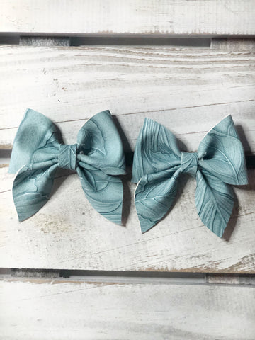 Powder Blue sailor Pigtail Set