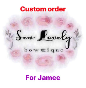 Custom Order for Jamee