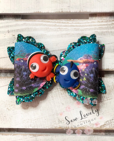 Finding nemo Clay Bow