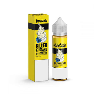 Vaptasia Killer Kustard Range 60ml