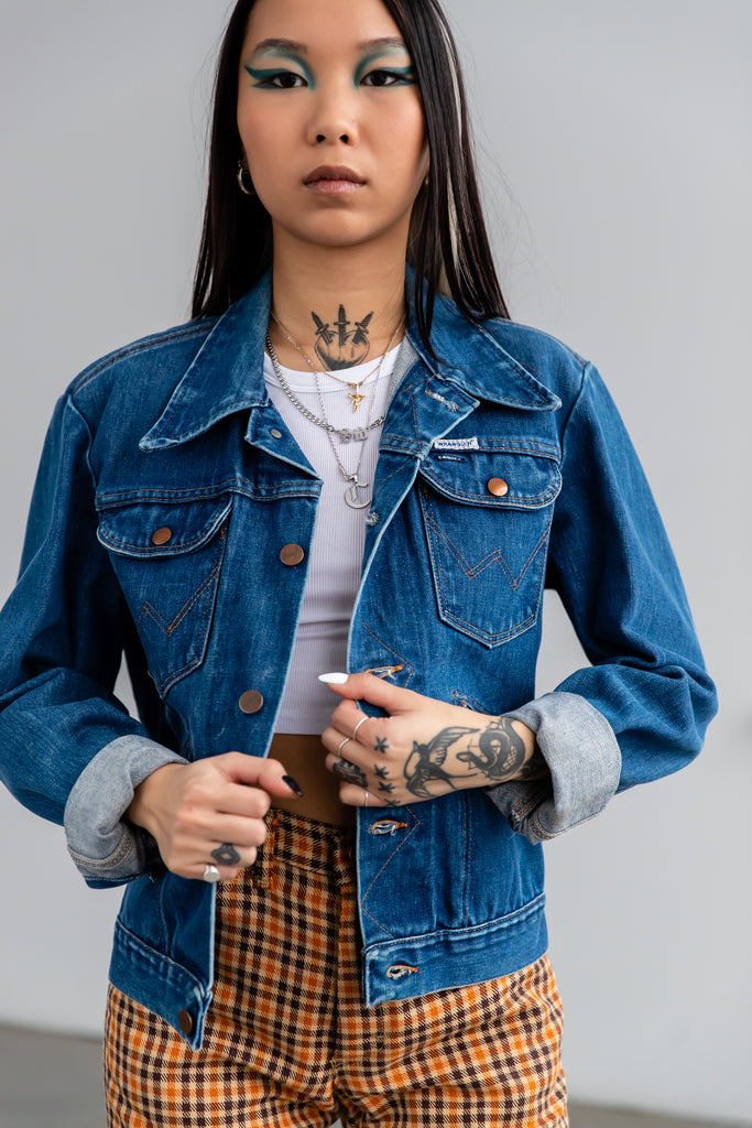 1970's Wrangler Denim Jean Jacket