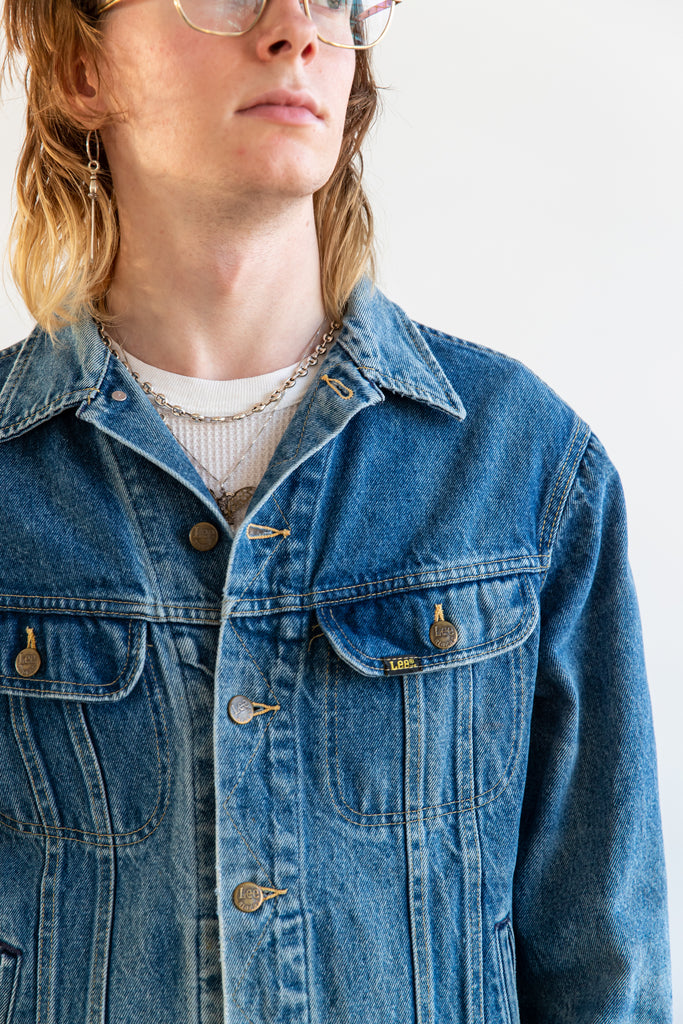 1970's Worn Out Lee Riders Denim Jean Jacket