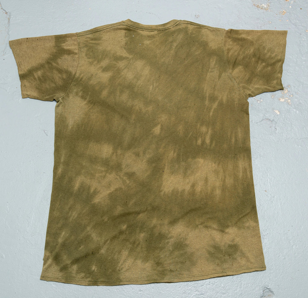 Widow's Blow Distressed & Sea salt Acid washed T-shirt