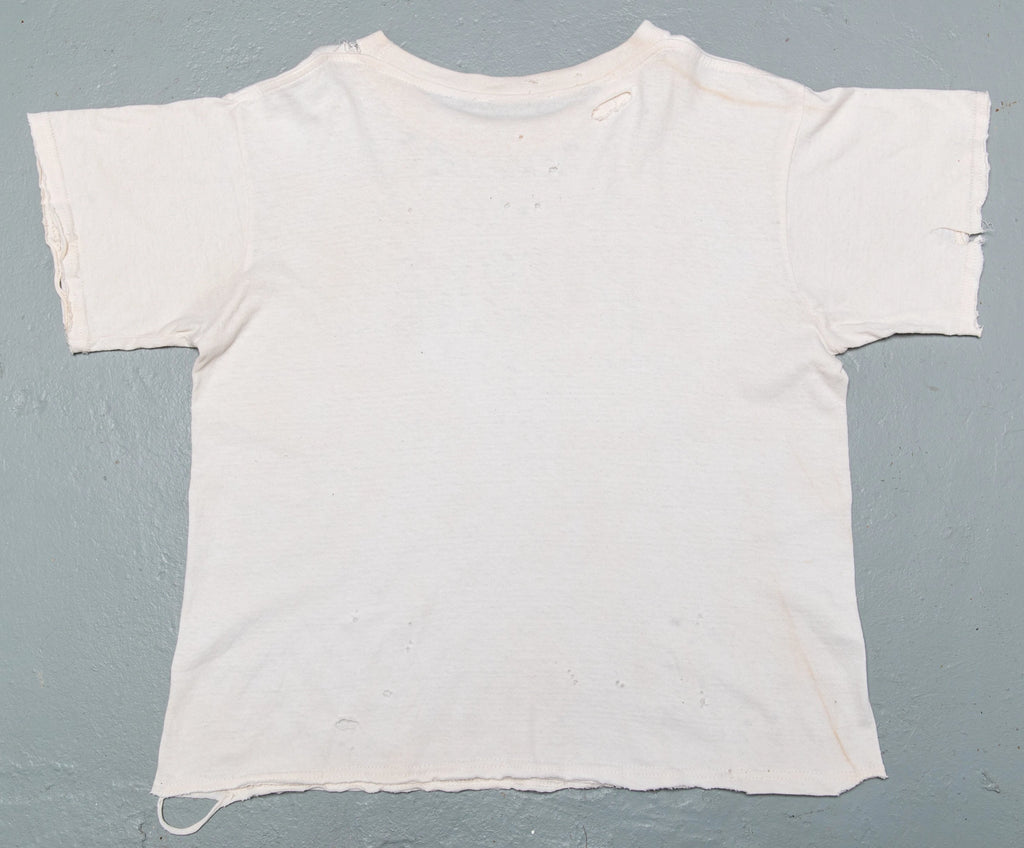 Widow's Blow Distressed & Sea salt & tea Bath T-shirt