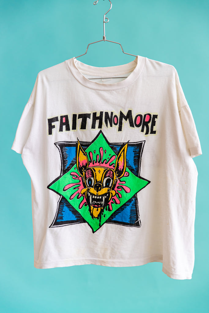 VERY RARE: 1990'S FAITH NO MORE KOZIK T-SHIRT