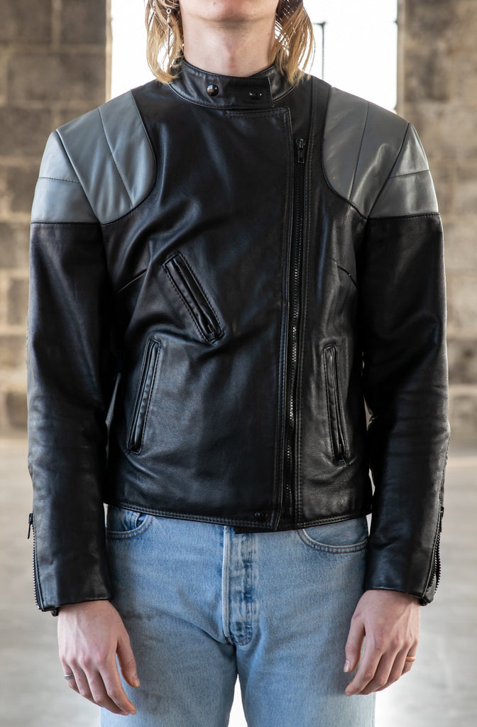 1980's Cafe Racer Leather Jacket by Bristol