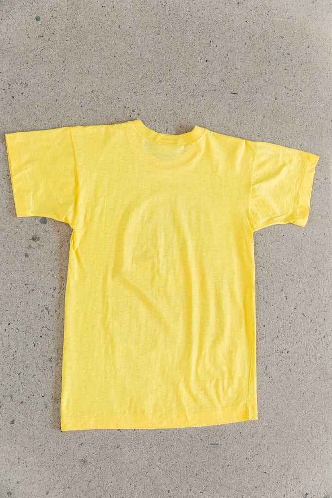 1979 Jethro Tull : On Road Again tour yellow T-Shirt