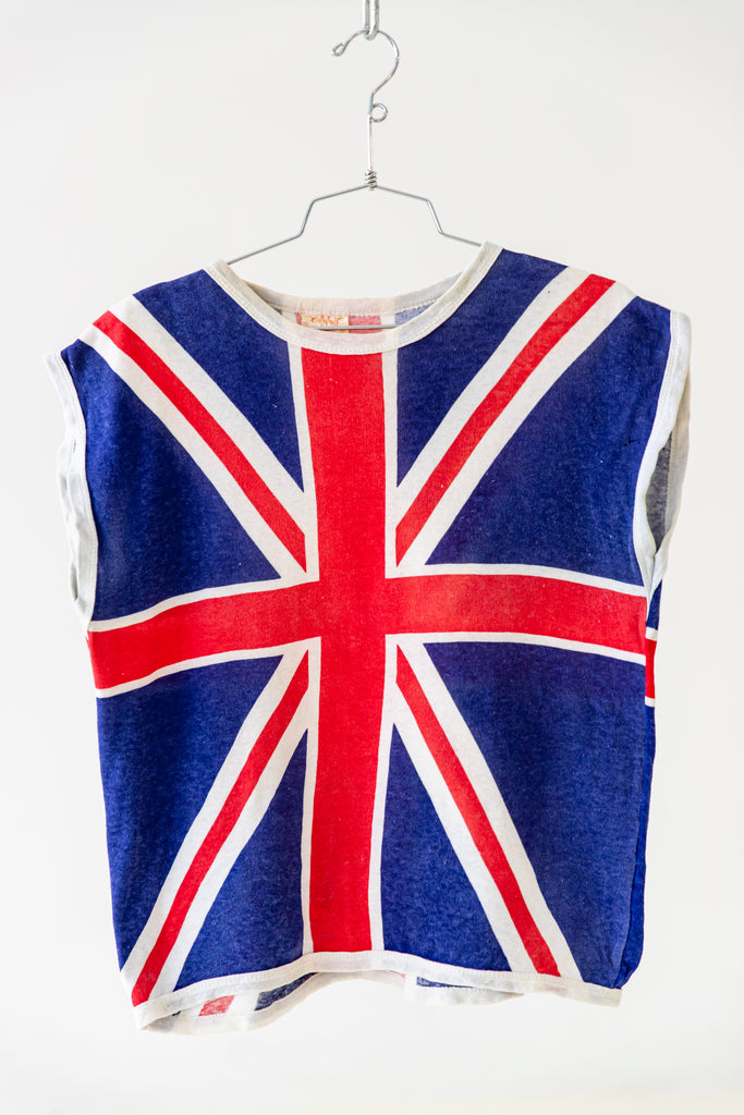 1970'S LONDON'S CALLING SLEEVELESS SHIRT