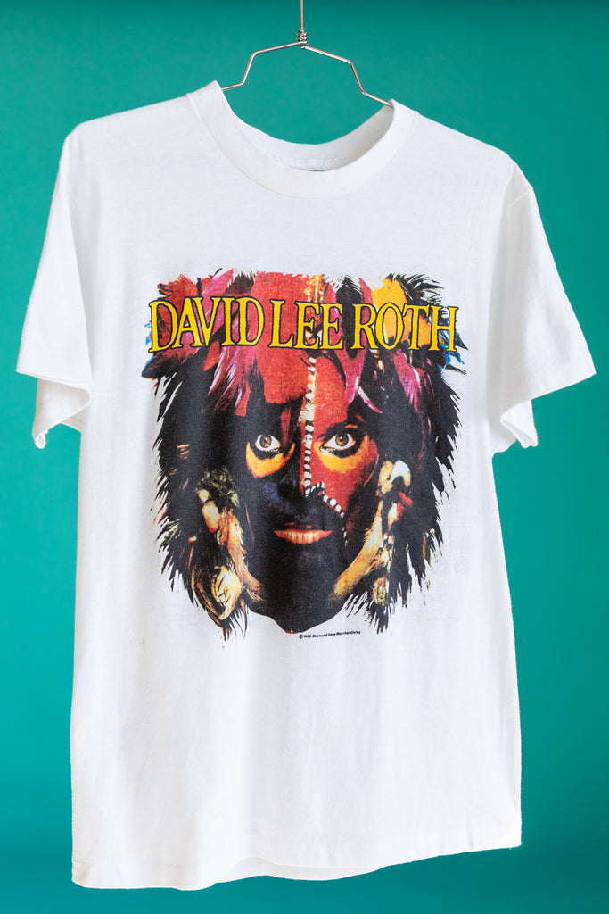 1986 David Lee Roth ''The World'' Tour T-Shirt