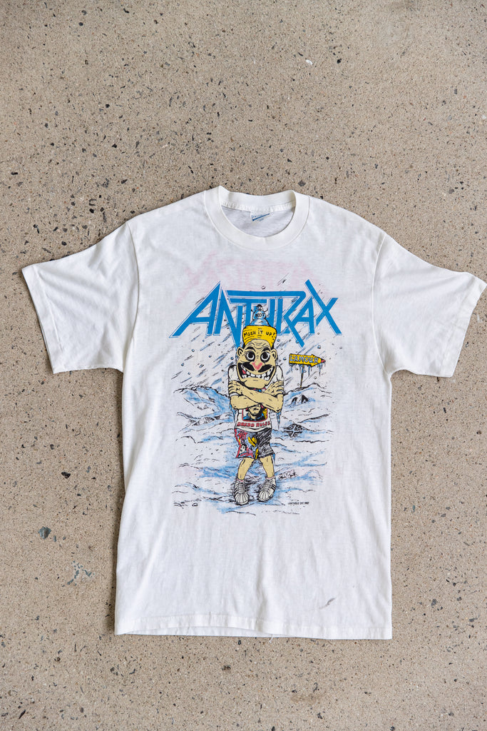 1987 ANTHRAX AMONG THE LIVING TOUR T-SHIRT