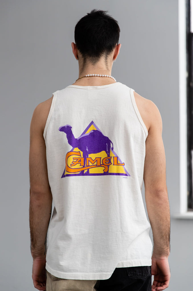 1990's Camel Cigarettes 1995 Genuine Taste Tank top