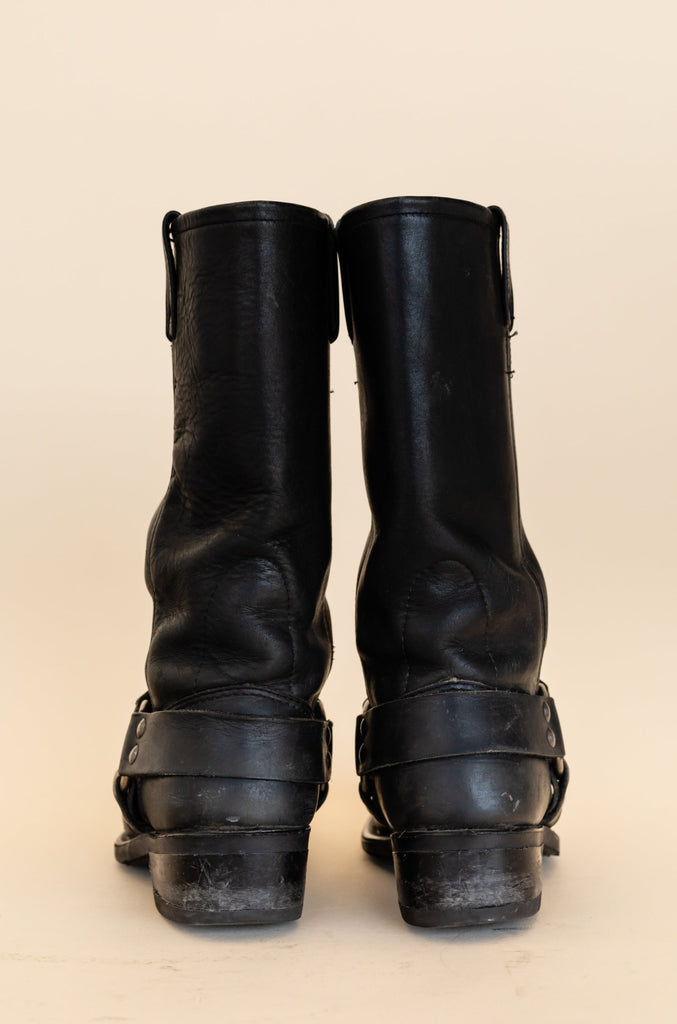 1990's Harley-Davidson Harness Boots with Eagle big logo