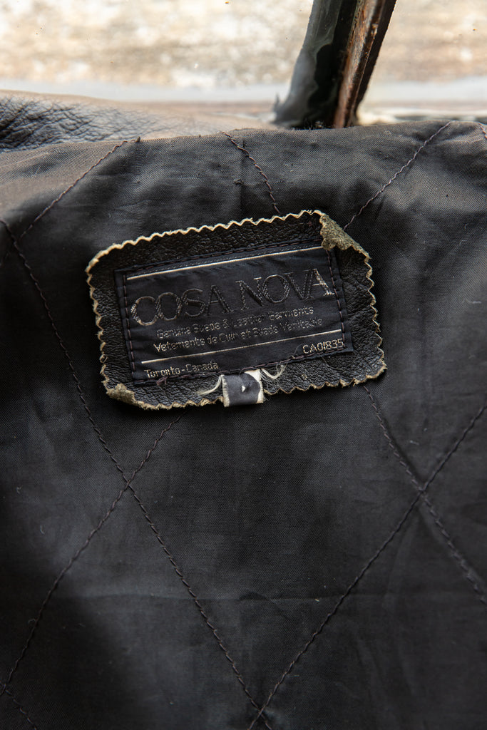 1990's Perfecto Jacket Made in Canada by Casa Nova