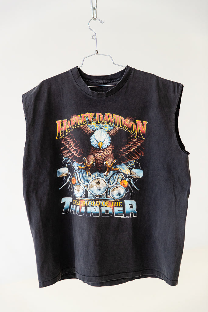 1992 HARLEY-DAVIDSON ''TAKE HOLD OF THE THUNDER'' SLEEVELESS