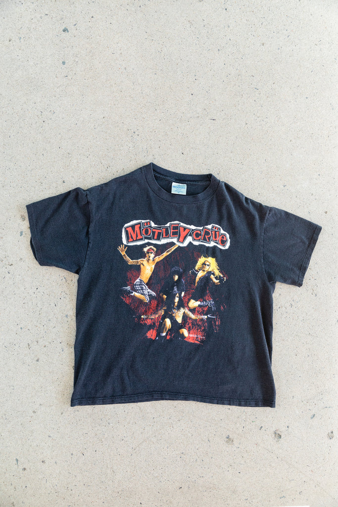 1991 Motley Crue  Decade Of Decadence Single Stitch T-shirt