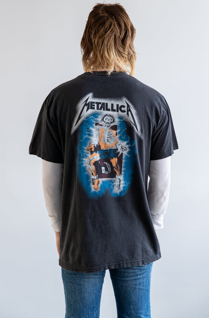 RARE !Vintage 1994 Metallica Kill'Em All t-shirt (men's Large)