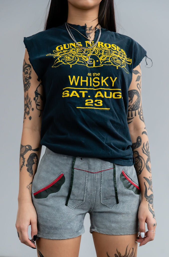 Guns N' Roses At The Whisky Sat Aug 23 Sleeveless Shirt