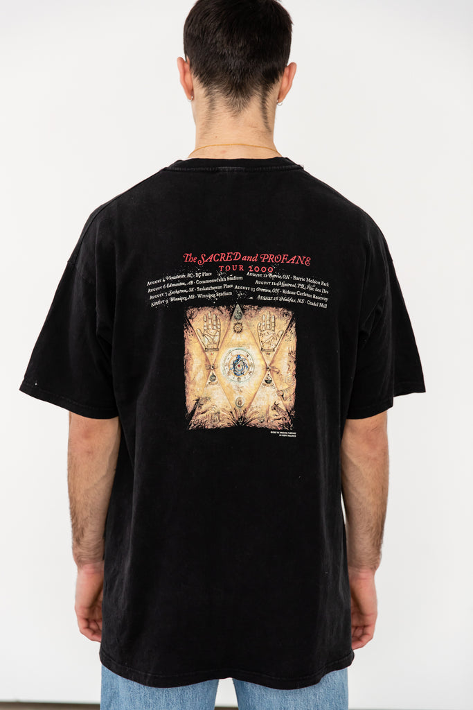 Vintage The Smashing Pumpkins Machina the machines of god The Scared And Profane Tour 2000 T-shirt (Men's XL)