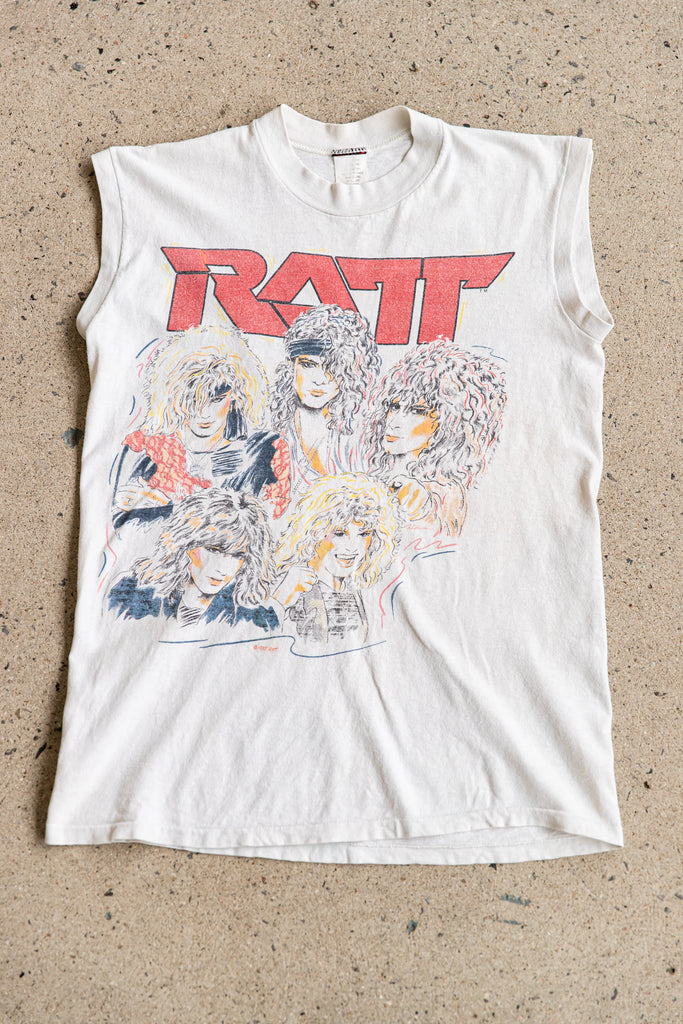 1985 RATT INVASION OF YOUR PRIVACY TOUR'85 SLEEVELESS SHIRT