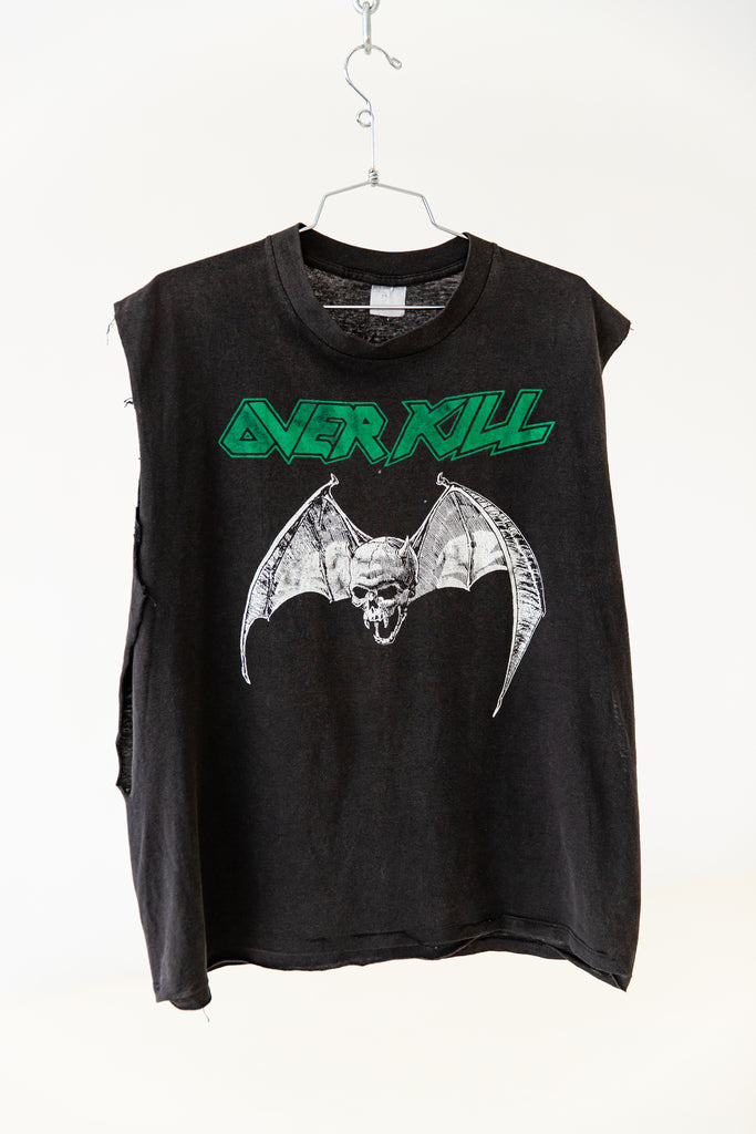 1990'S OVER KILL SLEEVELESS SHIRT