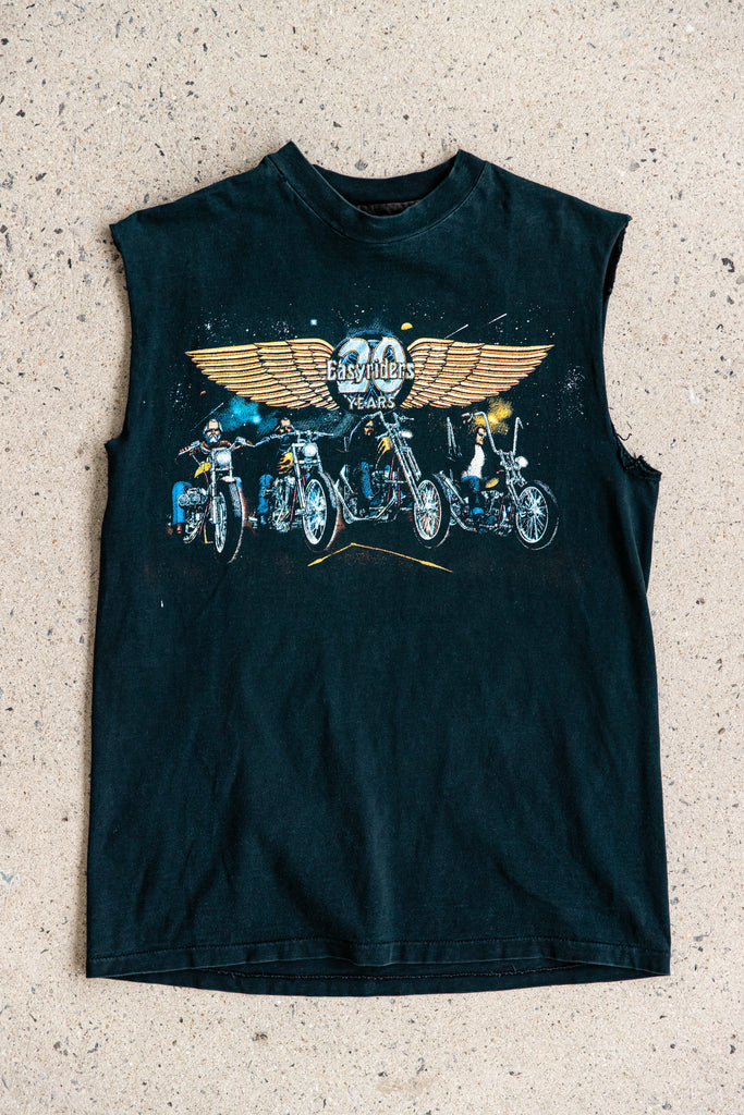 1991 EASY RIDERS 20TH YEAR ANNIVERSARY SLEEVELESS SHIRT