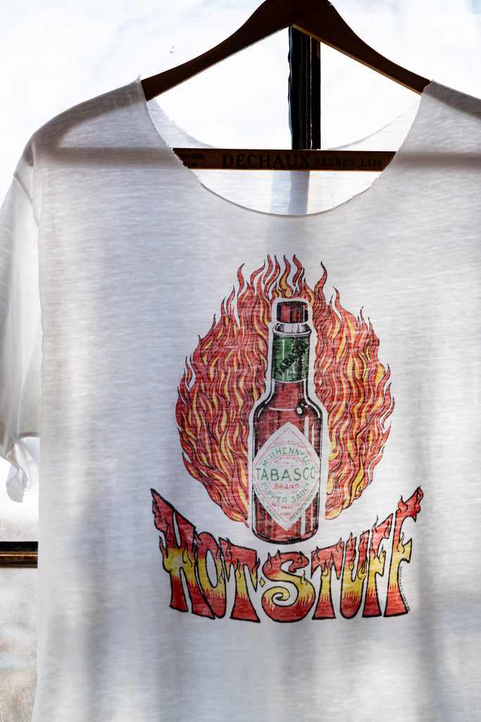 "1990's, Vintage, Tabasco sauce ""Hot Stuff"" T-Shirt"