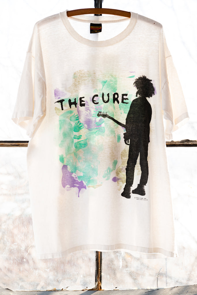 1986, Vintage The Cure, BOYS DON'T CRY, Single Stitch, T-shirt, (Men's extra large)