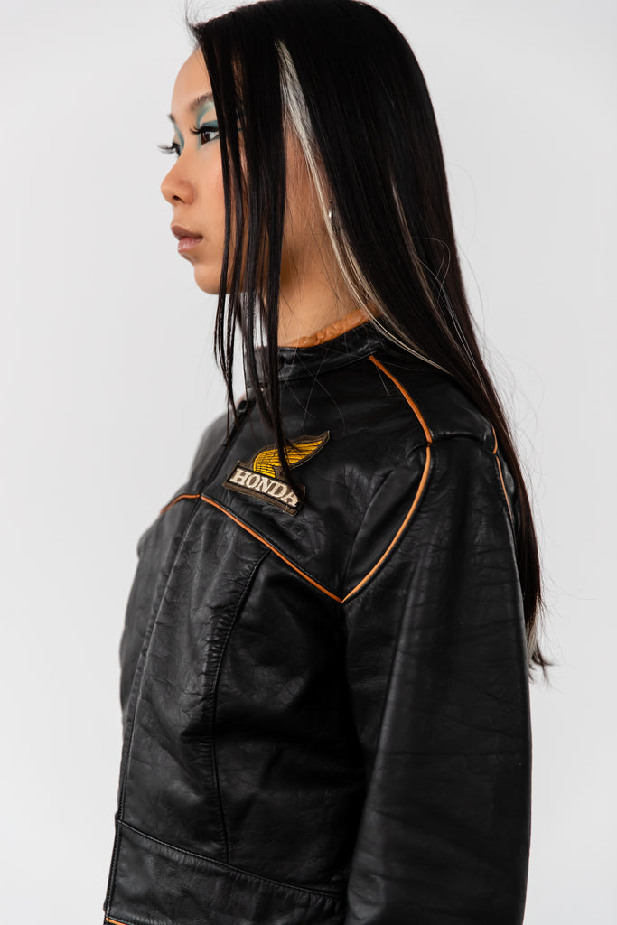 1980's Honda Motorcycle Jacket