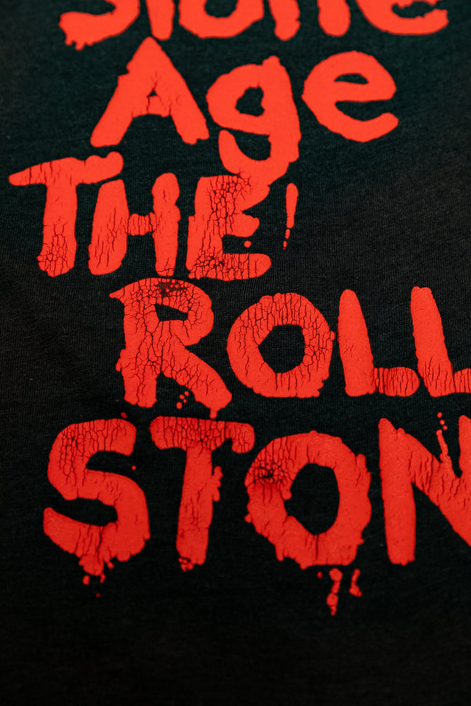 Vintage 1978 THE ROLLING STONES ''STONE AGE'' PARKING LOT RAGLAN SHIRT