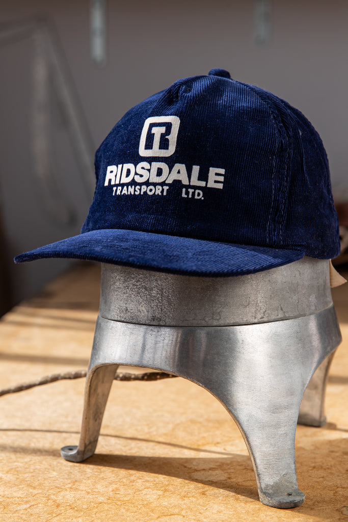 Vintage ''Ridsdale Transport LTD'' Snapback Trucker Hat Baseball Cap