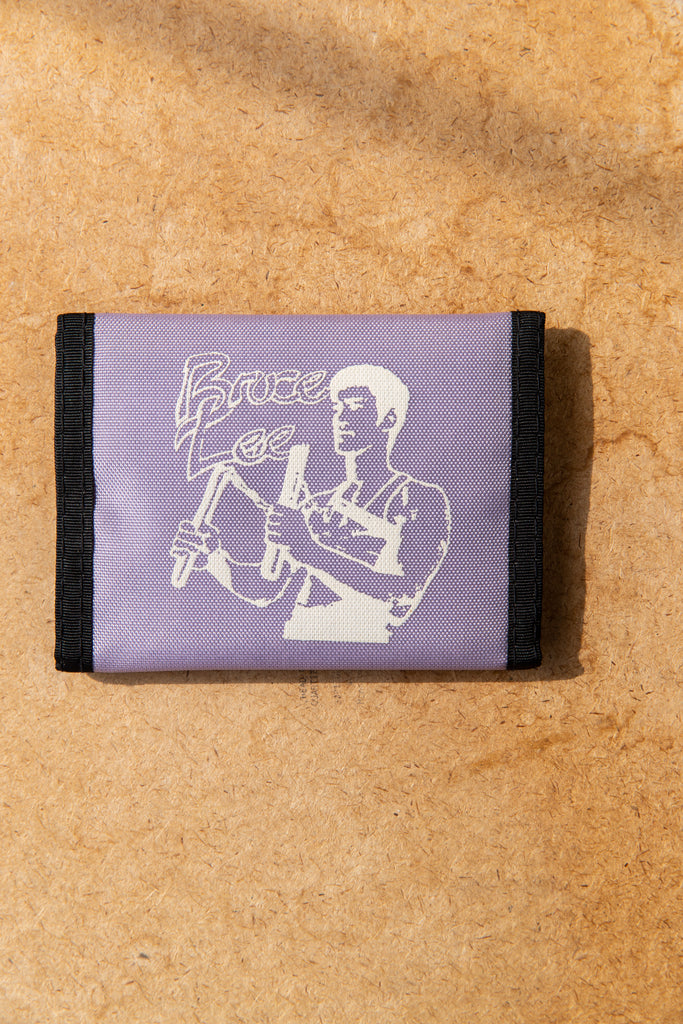Vintage 1980's ''Old New'' Bruce Lee Velcro Wallet