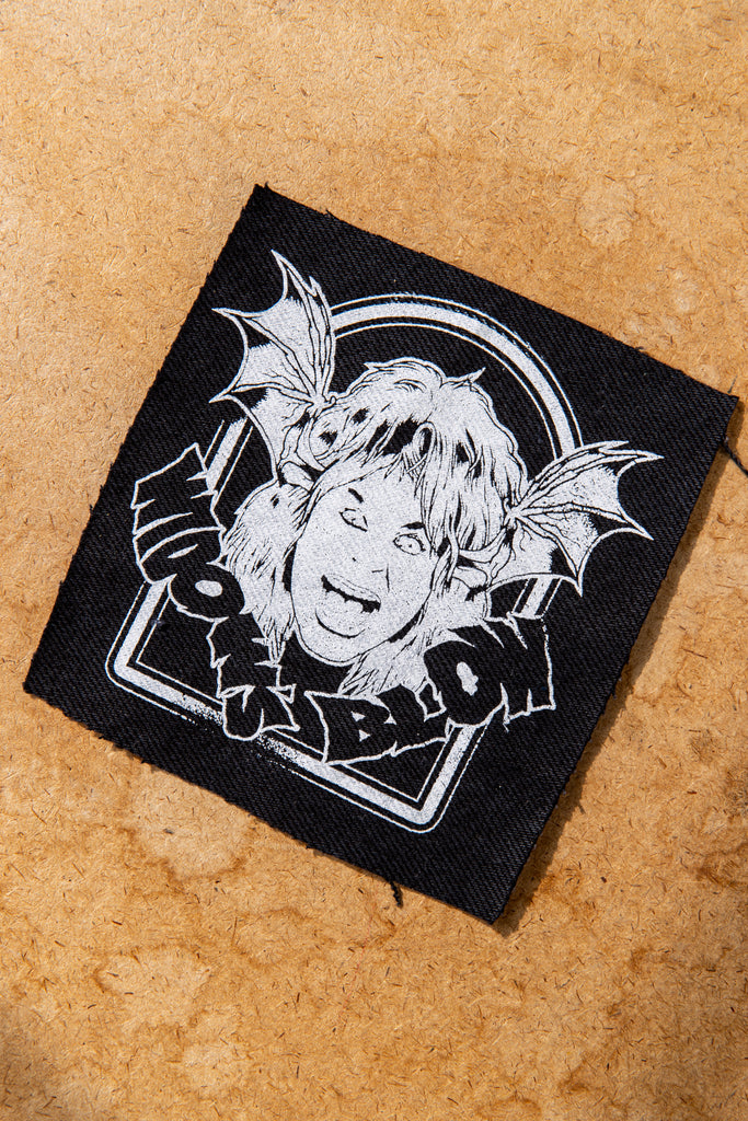 WB X OZZY - Screen Printed on Reclycled Canvas Patch