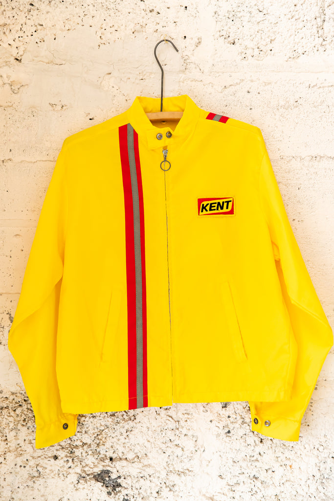 1980's, Vintage, ''KENT'' Racing, Gas Station, Windbreaker Jacket (Men's Medium)