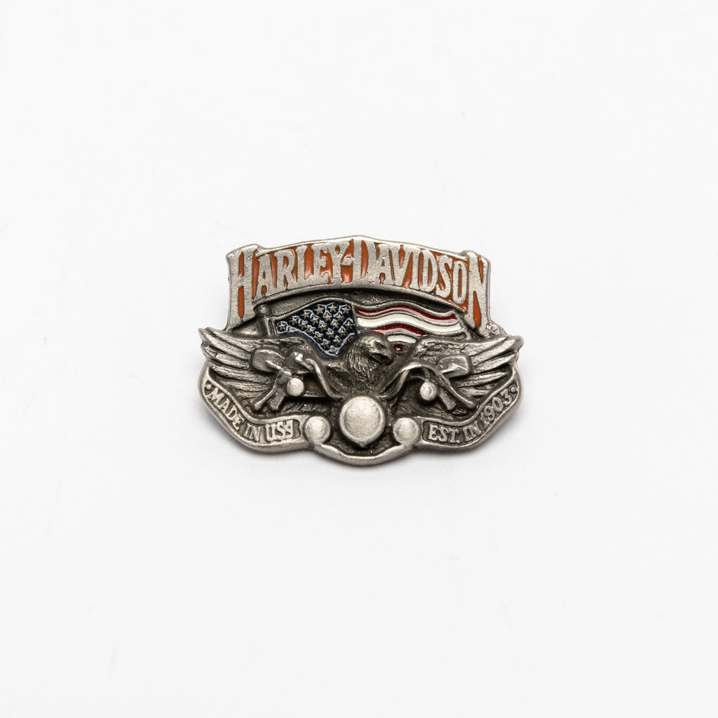 90's ,Vintage, Harley-Davidson, Motorcycles, Eagle, official licensed product, Made in USA, PIN